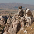 Stock Photo: Cave city in Cappadocia, Turkey