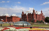 History Museum at Red Square in Moscow — Stock Photo