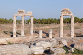 Ancient ruins Hierapolis. Turkey — Stock Photo