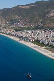Turkey. Alanya cityscape — Stock Photo