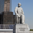 Monument of Tsiolkovsky in Moscow — Stock Photo #10931634