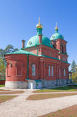 Great monasteries of Russia. Island Valaam. Resurrection Skete — Stock Photo