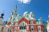 Great monasteries of Russia. Island Valaam. Spaso-Preobrazhenskiy cathedral — Stock Photo