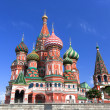 St. Basil Cathedral. Moscow, Russia, Red Square — Stock Photo