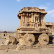 Stock Photo: Stone chariot at VittalTemple