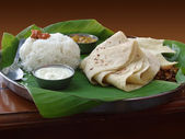 Meal named Thali — Stock Photo