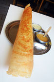 Paper masala dosa — Stock Photo