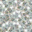 Indian rupees seamless texture - Stock Photo