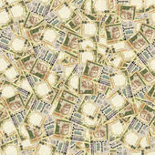 Indian rupees seamless texture — Stock Photo