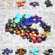 Various color stones — Stock Photo #11551959