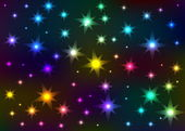 Abstract the shone star sky — Stock Photo