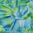 Stock Photo: Watercolors abstract blue background in manner of spirals