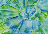 Watercolors abstract blue background in the manner of spirals — Stock Photo