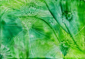 Watercolors green abstract sample — Stock Photo