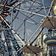 Ferris wheels cabins - Stockfoto
