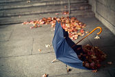 Lonely umbrella — Stock Photo