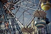 Ferris wheels cabins — Stock Photo