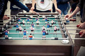 Table football players — Stock Photo