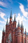 Katolická Katedrála Neposkvrněného početí Panny Marie Moskva — Stock fotografie