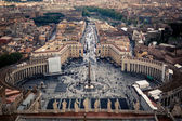 The Vatican St. Peter's Square — Stock Photo
