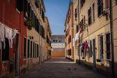 Ulice wenecji — Zdjęcie stockowe