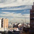 Barcelona highway road — Stockfoto