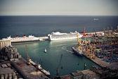Port of Barcelona — Stockfoto