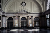 Railway station interior — Stock Photo