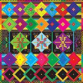 Etno alfombra — Foto de Stock