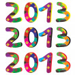The year 2013 - Foto Stock
