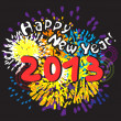 Happy new year 2013 - Foto Stock