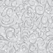 Bezešvé kreslené květy — Stock vektor
