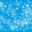 Abstract background of winter - Stock Vector
