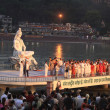 International Festival of yoga in Rishikesh, North India, 2012 — Stock Photo