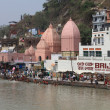 Quay Rishikesh - the world capital of yoga — Stock Photo