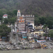 Unusual architecture of city of Rishikesh — Stok Fotoğraf #11617772