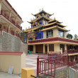 Buddhist temple in the city Revalsar, North India — Stock Photo