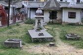 Lingas de jardim. chamunda templo devi — Fotografia Stock