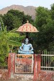 Una estatua de shiva en la meditación — Foto de Stock
