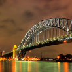 Sydney Harbour with Opera House and Bridge — Stock Photo #11848379