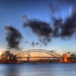 Sydney Harbour with Opera House and Bridge — Stock Photo #11848411
