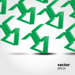 Abstract arrows vector background — Stock Photo