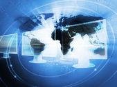 Fondo de negocios del mundo — Foto de Stock