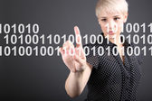 Internet security - technology security concept — Stock Photo