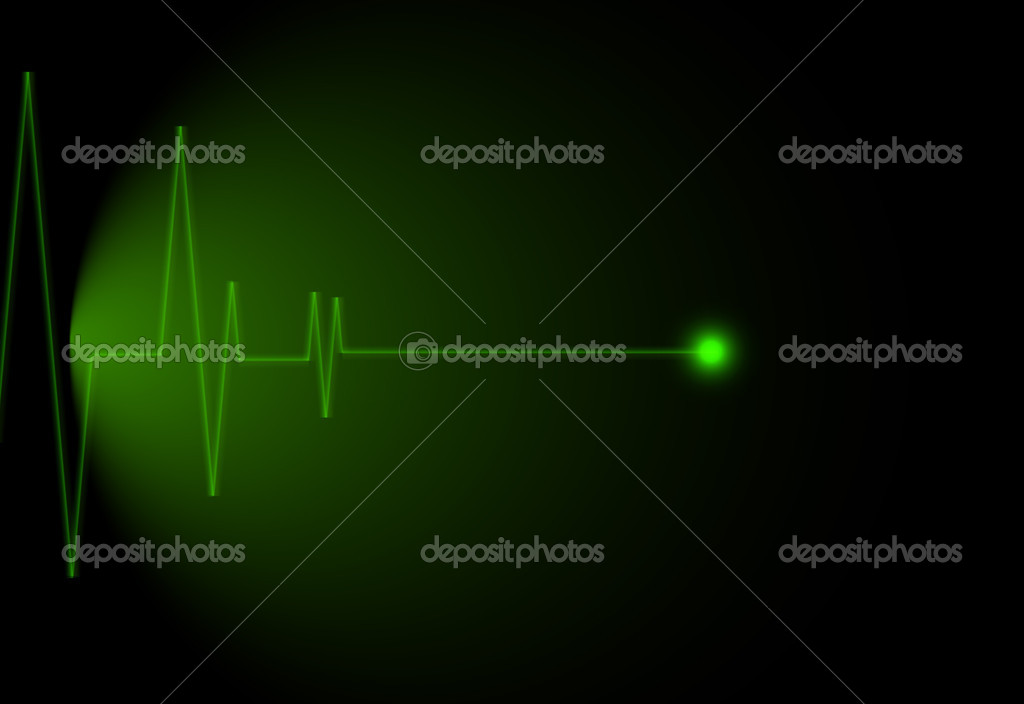 EKG, editable vector illustration — Stock Photo #11848508