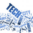 Word cloud technology, Background concept — Stock Photo #12179446