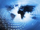 всемирный бизнес фон — Стоковое фото