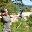 Bow hunter — Foto Stock