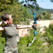 Bow hunter — Stockfoto