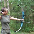 Bow hunter — Stock Photo